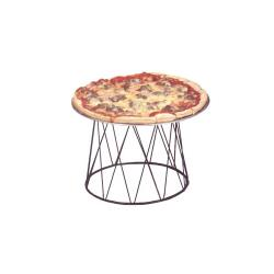 American Metalcraft - DPS797 - 9 in x 7 in Pizza Stand image