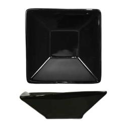 ITI - FA-7-B - 8 oz Black Square Fruit Dish image