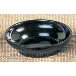 Thunder Group - ML351BL1 - 4 1/2 oz Black Tulip/Salsa Bowl image