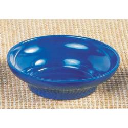 Thunder Group - ML352CB1 - 4 3/4 in - 7 oz Cobalt Blue Tulip/Salsa Bowl image