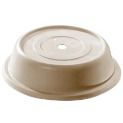 "Cambro - 106VS - Versa Camcover® Round 10 13/32"" Parchment Plate Cover image"