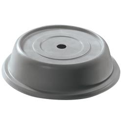 "Cambro - 116VS - Versa Camcover® Round 11 3/8"" Gray Plate Cover image"