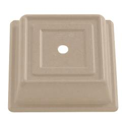 "Cambro - 978SFVS - Versa Camcover® Square 10"" Parchment Plate Cover image"