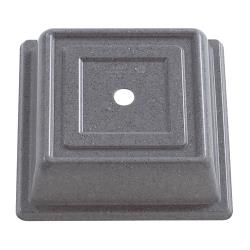 Cambro - 978SFVS191 - 10 in Gray Square Versa Camcover® Plate Cover image