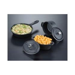 American Metalcraft - CIPR42 - 4 in Cast Iron Casserole image