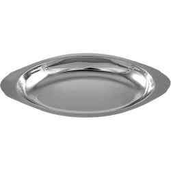 ITI - ITW-I-I-12 - 12 oz Stainless Steel Oval Au-Gratin image