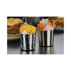 American Metalcraft - FFHM37 - Ironworks™ 3 3/8 in Hammered Stainless Fry Cup image