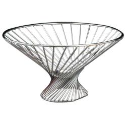 American Metalcraft - FR12 - 12 in x 6 in Whirly Basket image