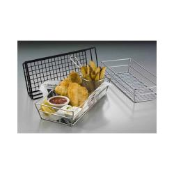 American Metalcraft - GCRB2613 - 13 in x 6 in Black Grid Basket image