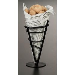 American Metalcraft - MFC2 - 3 3/4 in x 7 1/4 in Mini Fryer Basket image