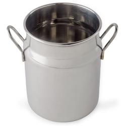 American Metalcraft - MICH25 - 2 1/2 oz Stainless Steel Milk Can image