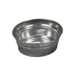 American Metalcraft - MTUB83 - 8 in 3 in Galvanized Tub image