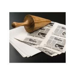 American Metalcraft - PPRW67 - 7 in x 6 in White Paper Bags image