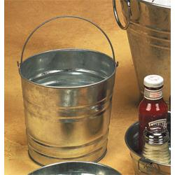 American Metalcraft - PTUB87 - 8 in x 7 in Galvanized Pail image