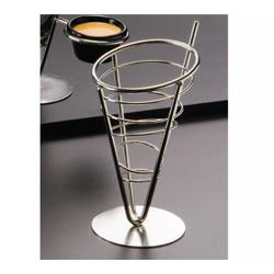 American Metalcraft - SS59 - Ironworks™ Stainless Steel 1-Cone Basket image