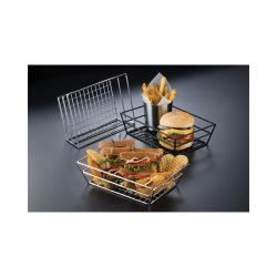American Metalcraft - SSRT962 - 9 in x 6 in Stainless Grid Basket image