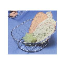 American Metalcraft - WIR3 - Oblong Chrome Chix Wire Basket image