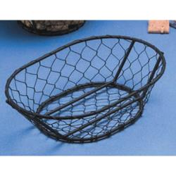 American Metalcraft - WIR4 - Oblong Black Chix Wire Basket image