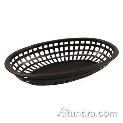 Bar Maid - CR-654BLK - Oval Black Basket image