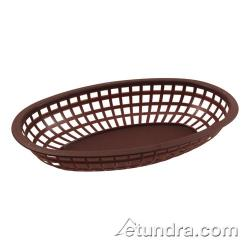 Bar Maid - CR-654BR - Oval Brown Basket image