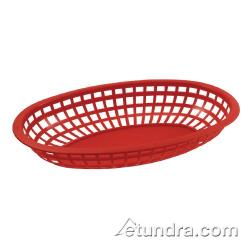 Bar Maid - CR-654R - Oval Red Basket image