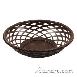 Bar Maid - CR-655BR - Round Brown Basket image