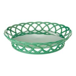 GET Enterprises - RB-860-FG - 10 in Forest Green Round Basket image