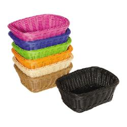 GET Enterprises - WB-1506-HY - 9 1/2 in Designer Polyweave Honey Basket image