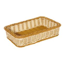 GET Enterprises - WB-1513-TT - Designer Polyweave Two-Tone 17 1/2 in x 11 1/2 in Basket image