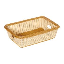 GET Enterprises - WB-1516-TT - Polyweave Two-Tone 22 in x 15 1/2 in Basket image