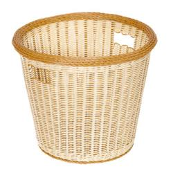GET Enterprises - WB-1523-TT - Designer Polyweave Two-Tone 17 in Round Basket image