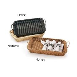 GET Enterprises - WB-1524-HY - Designer Polyweave Honey Basket With Handles image
