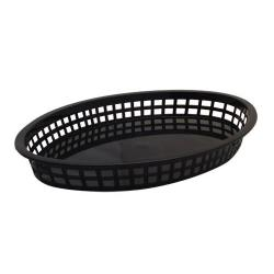 Tablecraft - 1086BK - Black Oval Platter Basket image