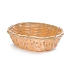 Tablecraft - 1171W - 7 in Oval Natural Woven Basket image