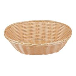 Tablecraft - 1174W - 9 in Oval Natural Woven Basket image