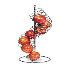 Tablecraft - FSP1507 - 19 in Vertical Spiral Wire Fruit Basket image