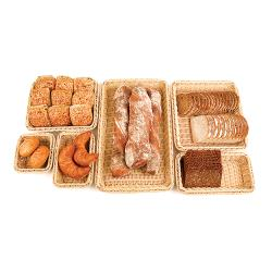 World Cuisine - 42967-13 - Full Size Polyrattan Bread Basket image