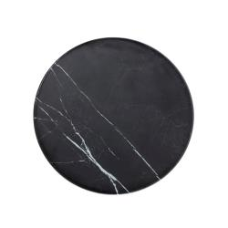 American Metalcraft - MB171 - 17 1/4 in Round Black Marble Serving Board image