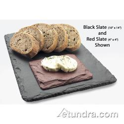 Cal-Mil - 1522-1020-65 - 10 in x 20 in Black Slate Serving Stone image