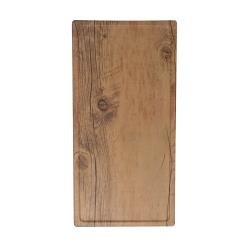 GET Enterprises - SB-1472-OW - 14 in x 7 in Granville™ Melamine Oak Serving Board image