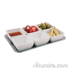 World Cuisine - 44838-07 - 7-Piece Melamine Tray and Bowl Set image
