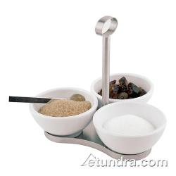 World Cuisine - 44839-04 - 4-Piece Melamine Tray and Bowl Set image