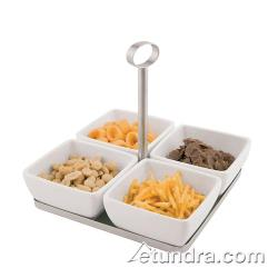 World Cuisine - 44839-05 - 5-Piece Melamine Tray and Bowl Set image