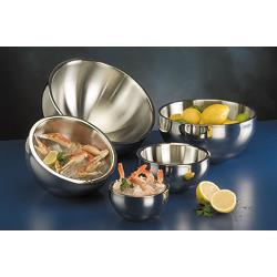 American Metalcraft - AB12 - 108 oz Angled Double Wall Bowl image
