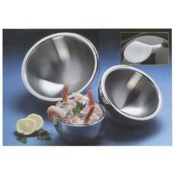American Metalcraft - AB6 - 23 oz Angled Double Wall Bowl image