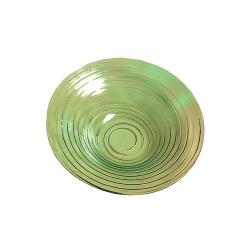 American Metalcraft - GBG14 - Glacier 14 in Green Glass Bowl image