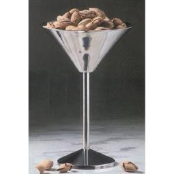 American Metalcraft - JMART15 - 80 oz Stainless Steel Martini Glass Server image