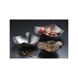 "American Metalcraft - SB7 - 11"" Solid Stainless Steel Serving Bowl image"