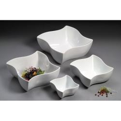 American Metalcraft - SQVY8 - 8 1/2 in Squavy White Porcelain Bowl image