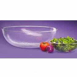 "Cal-Mil - 401-18-34 - 18"" Pebbled Acrylic Salad Bowl image"